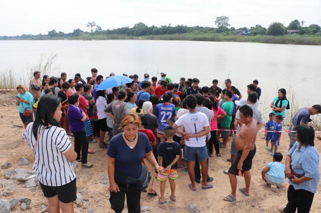 เด็กหญิงวัย14ปีจมน้ำดับ ต่อหน้าเพื่อน  ริมแม่น้ำเจ้าพระยา