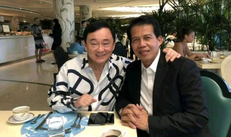 """ภาพ นายนคร มาฉิม คนที่เคยออกมาเผยว่า """"ทักษิณ"""" อยากให้ประชาชนพากลับบ้าน ขอบคุณภาพจากไทยโพสต์"""