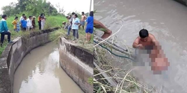 สลด! พ่อ-ปู่ กระโดดช่วยหลานวัย 3 ขวบพลัดตกบ่อน้ำ มีพลเมืองดีเข้าช่วยพ่อและเด็กได้ทัน ส่วนปู่เสียชีวิต