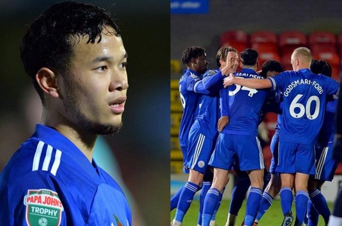 """แข้งไทย """"ธนวัฒน์"""" ตัวจริงช่วย เลสเตอร์ รัวแซง กริมส์บี้ 3-1"""