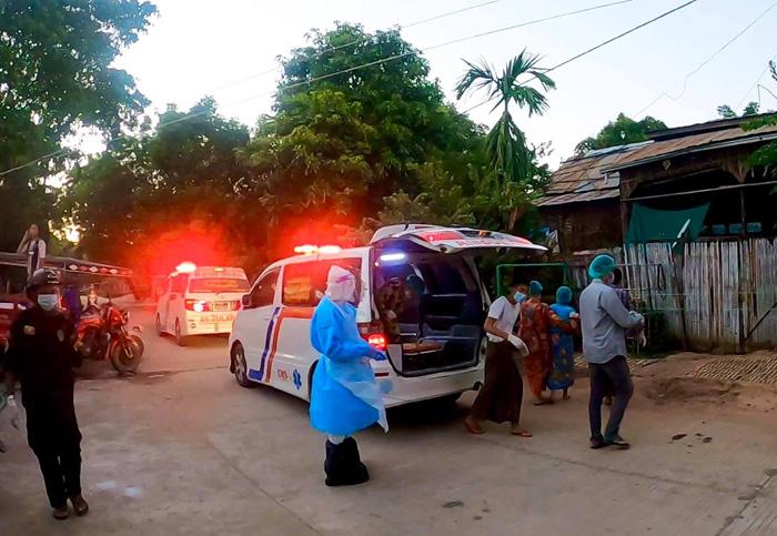 2 หมู่บ้านในเมียนมา เสร็จเลือกตั้งถูกล็อกดาวน์ทันที เหตุพบผู้ติดเชื้อโควิด
