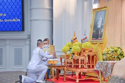 กองทัพเรือ รับโล่พระราชทานชนะเลิศ กองทหารเกียรติยศ ระดับกองทัพไทย