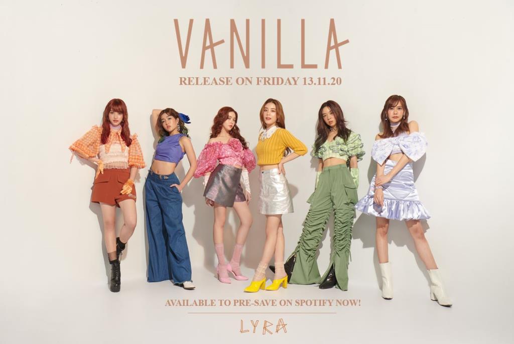 """LYRA เกิร์ลกรุ๊ปคุณภาพ แรงต่อเนื่อง ส่งซิงเกิ้ลที่ 2 """"Vanilla"""" (วานิลลา) 13 พ.ย. นี้ หวานละมุนบนทุกสตรีมมิ่งแพลตฟอร์ม"""