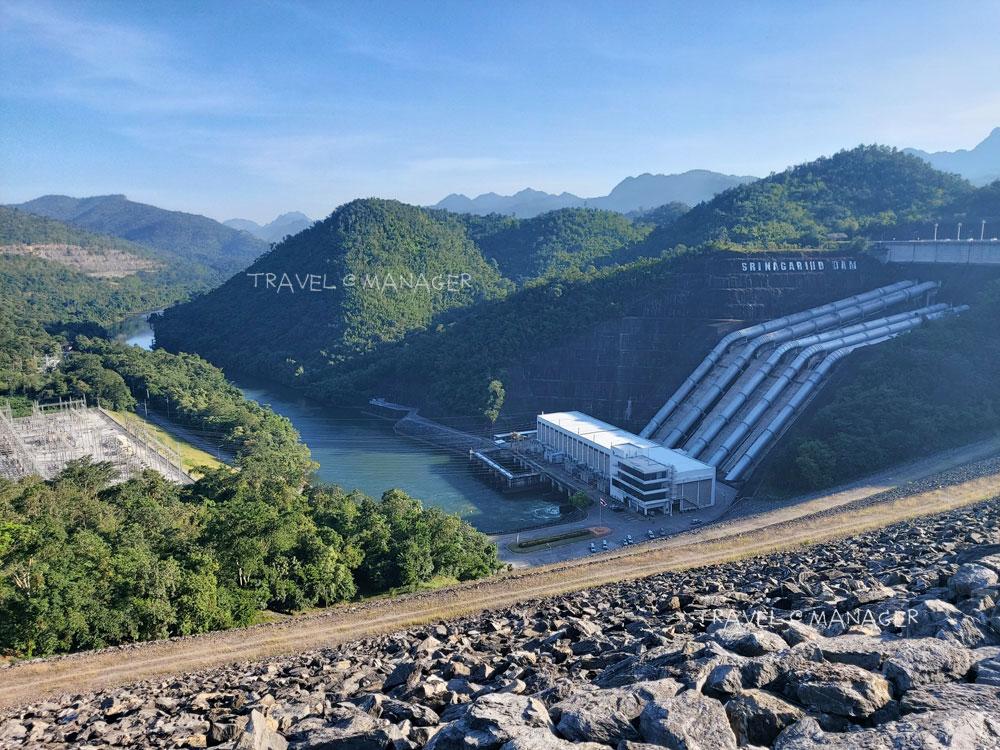 เขื่อนศรีนครินทร์ เขื่อนที่มีความจุของอ่างเก็บน้ำมากที่สุดในประเทศไทย
