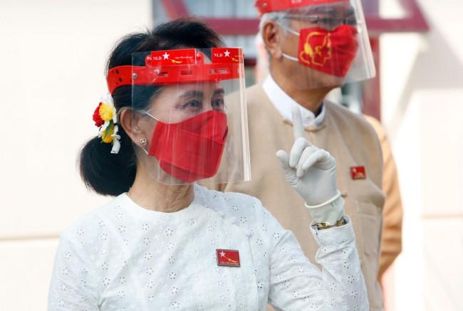 พรรค NLD แถลงครั้งแรกหลังชนะเลือกตั้งให้คำมั่นตอบสนองความต้องการประชาชน