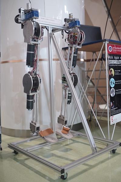 หุ่นยนต์ช่วยเดิน...เพื่อฟื้นฟูผู้ป่วย-ผู้พิการ (ExoSkeleton)