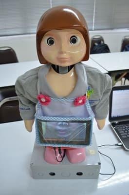 หุ่นยนต์เสริมการกระตุ้นพัฒนาการเด็กออทิสติก