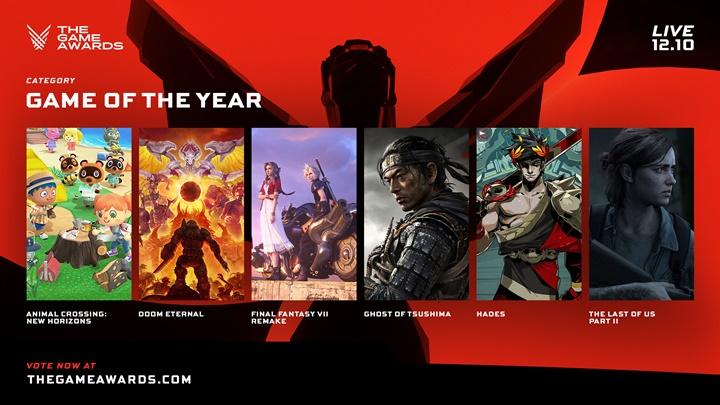 """โหวตเลย! """"The Game Awards"""" ประกาศรายชื่อผู้เข้าชิงประจำปี 2020"""