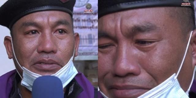 จากใจตำรวจควบคุมฝูงชน อยากให้คนไทยรักและสามัคคีกัน หลังต้องทิ้งครอบครัวมาปฎิบัติหน้าที่