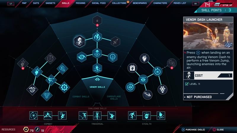สายสกิลทรีทั้ง 3 ที่เห็นแดงๆคือล็อคไว้สำหรับการเล่นรอบหน้า