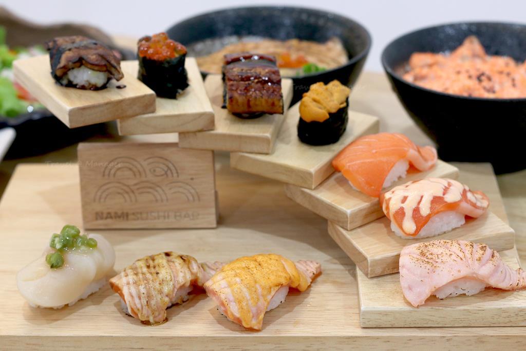 """เมนูชวนชิมที่ร้าน """"Nami Sushi Bar"""""""