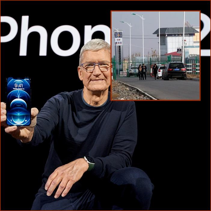 """In Clip: """"แอปเปิล"""" พยายามล็อบบี้ต่อต้านกฎหมายสหรัฐฯหยุดใช้แรงงานทาสอุยกูร์ในจีน"""
