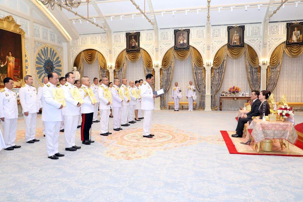 ในหลวง พระราชทานโฉนดที่ดินในพระปรมาภิไธย ให้แก่ 9 หน่วยงาน เพื่อใช้ประโยชน์เป็นสถานที่ทำงานสถานศึกษา และเพื่อเป็นประโยชน์ในทางราชการ