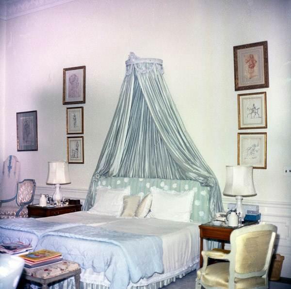 ห้องนอนสมัยแจ็กเกอลีน เคนเนดี