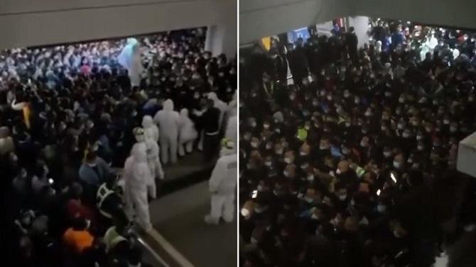 สนามบินจีนอลหม่าน!แตกตื่นหนีกักโรค หลังพบคนติดเชื้อโควิด-19(ชมคลิป)