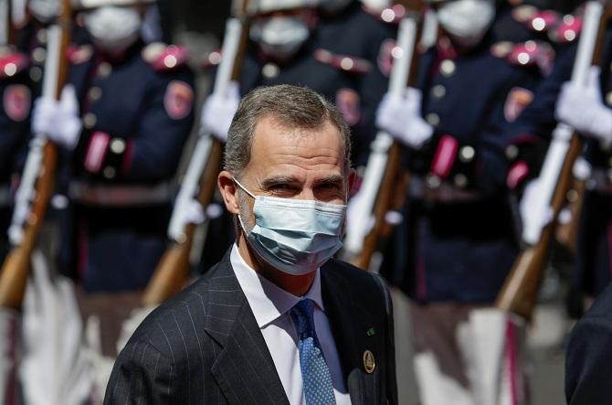 กษัตริย์สเปนทรงกักโรค หลังสัมผัสใกล้ชิดผู้ติดเชื้อโควิด-19