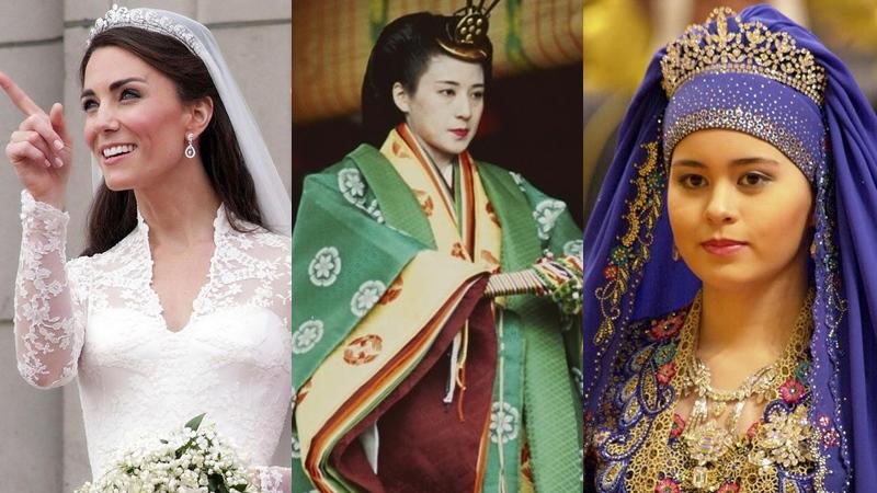 ฉลองพระองค์ราชาภิเษกสมรส เจ้าหญิงองค์ไหนแพงที่สุด