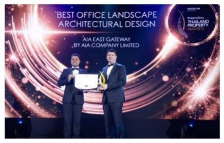 """""""เอไอเอ อีสต์ เกตเวย์"""" คว้า 2 สุดยอดรางวัลเกียรติยศจากเวที  PropertyGuru Thailand Property Awards 2020"""