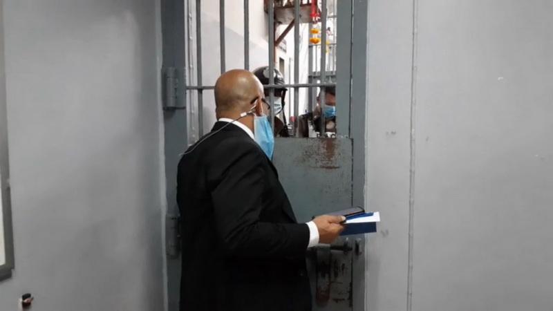 """ทนายเยี่ยมพูดคุย""""โตโต้""""ก่อนถูกสอบสวนข้อหา ม.116 ไม่ชัวร์ยื่นประกันหรือไม่"""