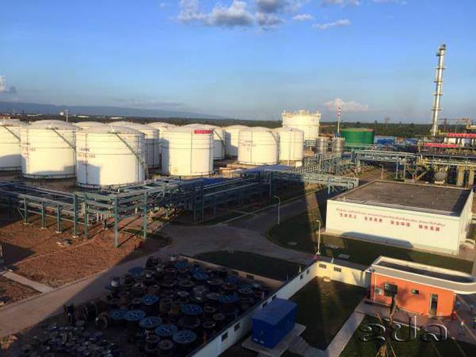 ลาวเฮ! โรงกลั่นน้ำมันแห่งแรกเริ่มเดินเครื่องผลิตสัปดาห์หน้า