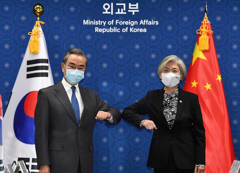 รมว.ตปท.'จีน-เกาหลีใต้' หารือ 'สี จิ้นผิง' เยือนโซล พร้อมร่วมมือแก้ปัญหาเกาหลีเหนือ