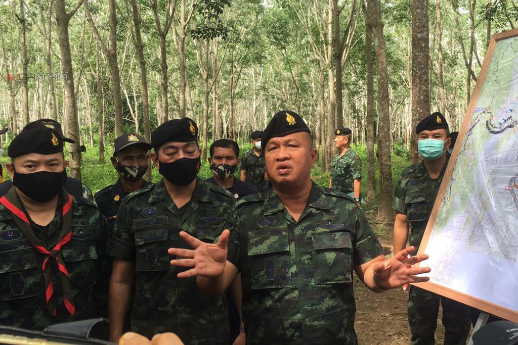 """""""บิ๊กเกรียง"""" ลุยตามเหตุยิงปะทะชายแดนปาดังเบซาร์ เผยรู้ตัวผู้ก่อเหตุคนไทยเกือบหมดแล้ว"""