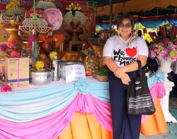 น.ส.จุลจิรา คำปวง เลขาธิการสมาคมมัคคุเทศก์เชียงใหม่ กรรมการและเลขานุการกองทุน We Love Chiang Mai