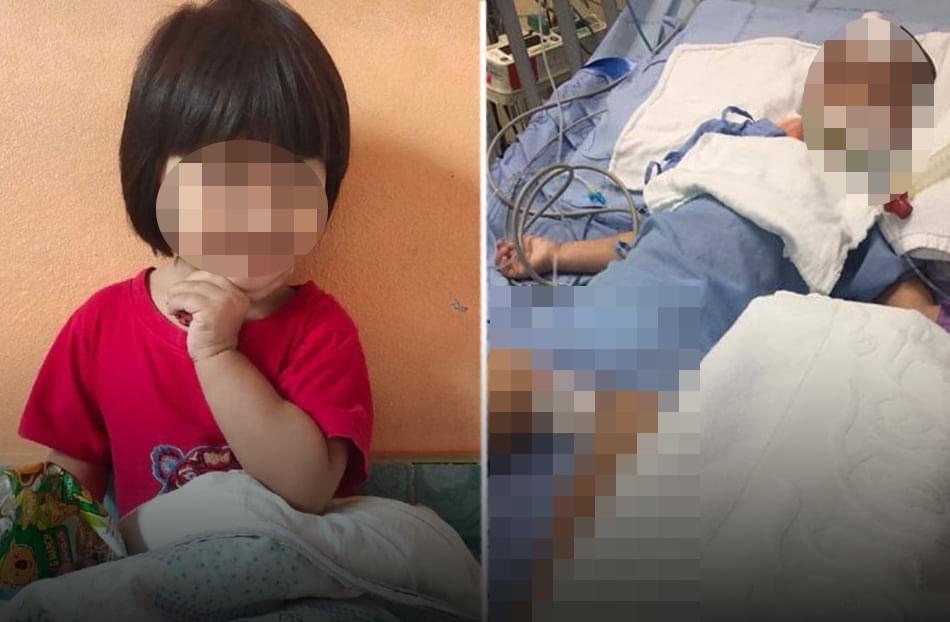 แม่ร้องปวีณาช่วย ลูกสาววัย 3 ขวบถูกคนเลี้ยงทำร้ายอาการโคม่า