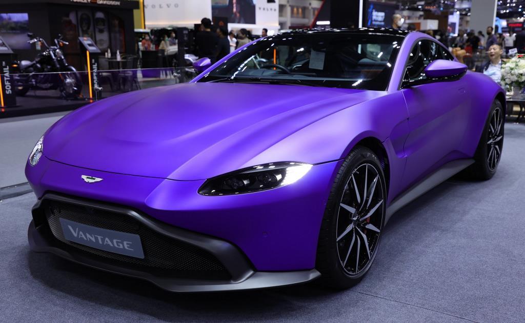 ชมรถหรูราคาแพงงาน  Motor Expo2020