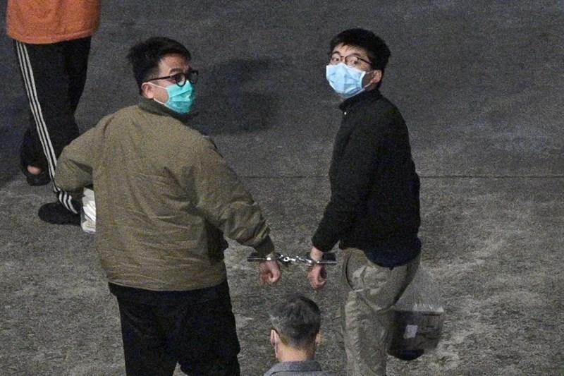 'โจชัว หว่อง'และ2แกนนำม็อบฮ่องกง ถูกตัดสินจำคุก7เดือนถึง13เดือนครึ่ง