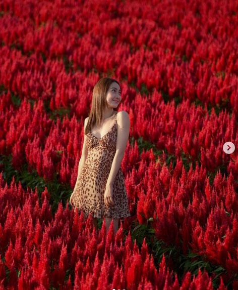 """หมู่มวลดอกไม้ยังต้องสยบ เมื่อ""""แต้ว ณฐพร"""" สวมเดรสสุดซี้ดเกี่ยวก้อย """"ไฮโซณัย"""" แชะภาพสวีต"""
