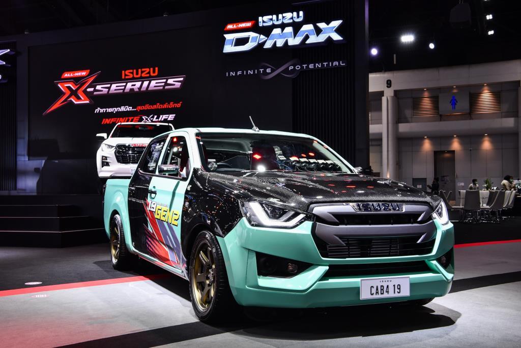 """อีซูซุ จัดเต็มนำรถรุ่นล่าสุดทุกรุ่นร่วมโชว์ในงาน """"มอเตอร์ เอ็กซ์โป 2020"""""""