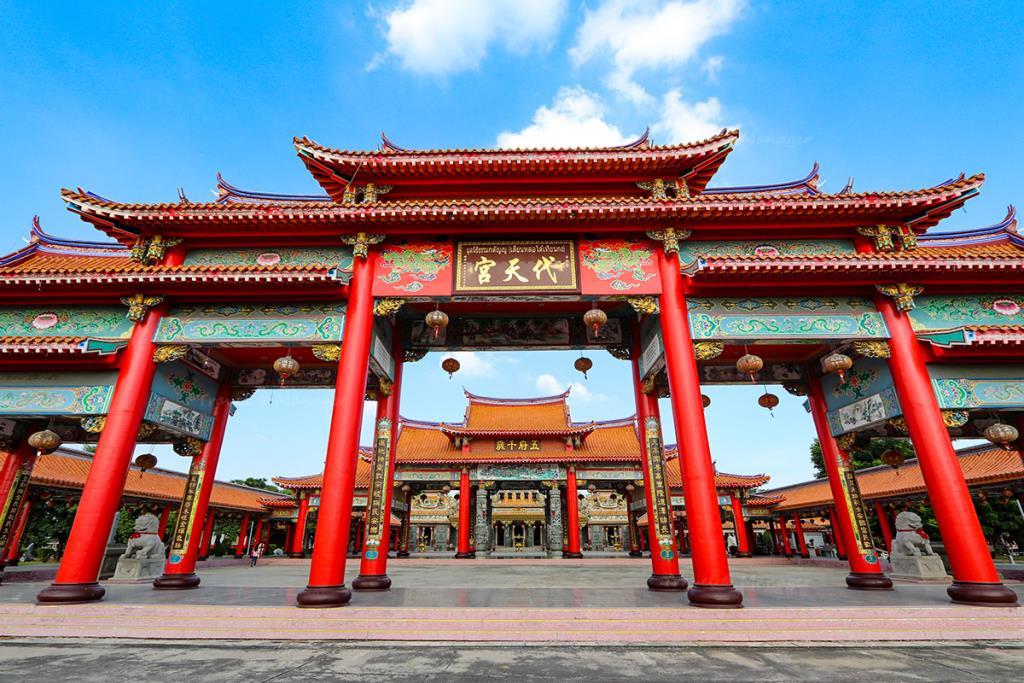 """งดงามจับใจ """"ศาลเจ้าเสียนหลอไต้เทียนกง"""" ไหว้เจ้าเสริมมงคล ชมสถาปัตยกรรมจีนสวยสะกดตา"""