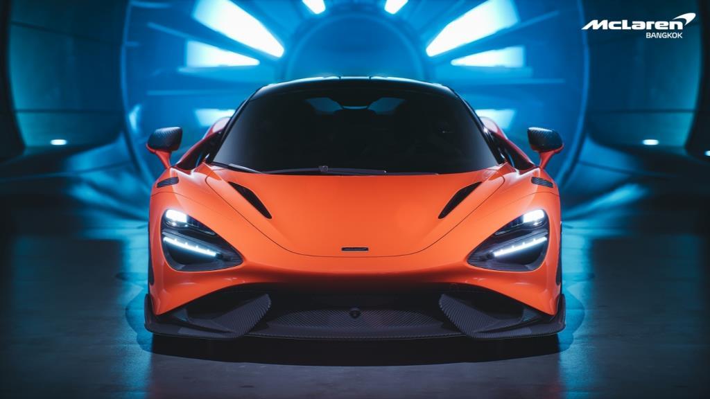 ครั้งแรกกับซุปเปอร์คาร์รุ่นใหม่ล่าสุดของ McLaren 765LT ใหม่ เปิดตัวในไทย