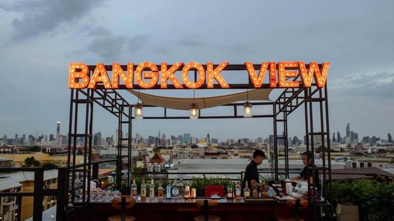 Bangkok View จุดเช็กอินแห่งใหม่บนถนนข้าวสาร