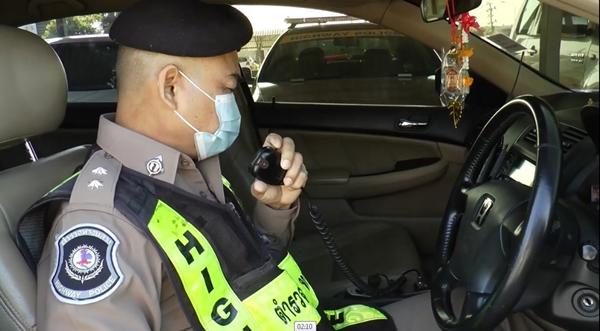 ตำรวจทางหลวงสระบุรี อำนวยความสะดวกในการเดินทางวันหยุด 4 วัน