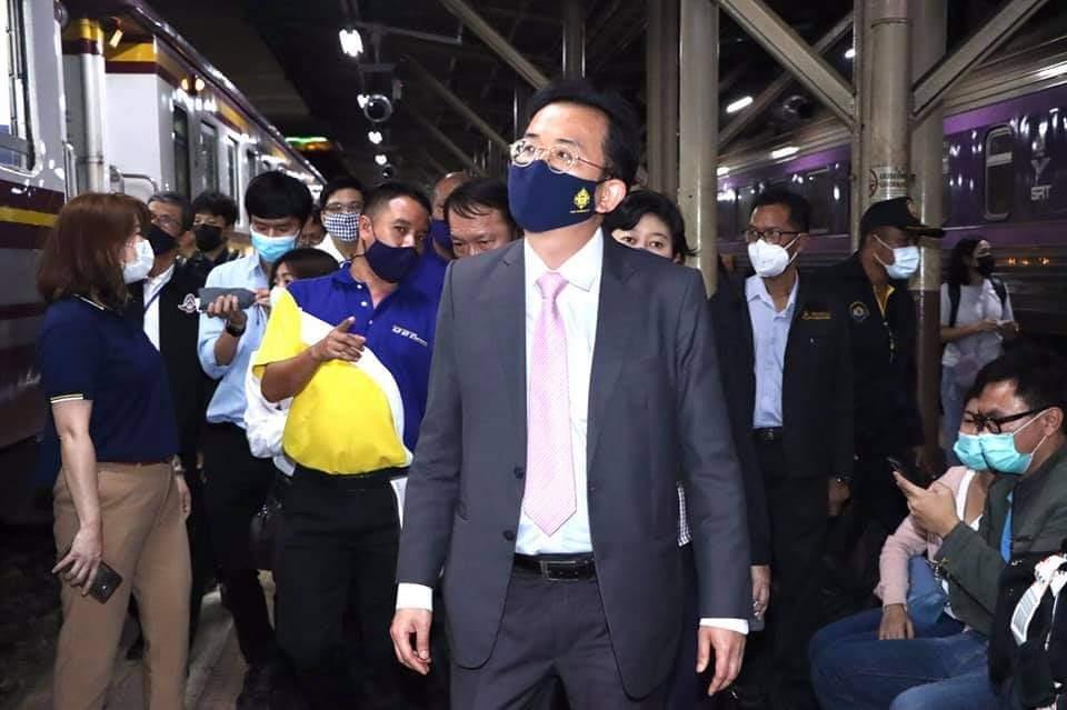 """กรมรางตรวจบริการรถไฟ-รถไฟฟ้า เข้ม""""สะดวก -สะอาด-ปลอดภัย"""