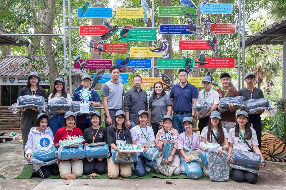 """บ้านปูฯ เปิดค่ายเยาวชนวิทยาศาสตร์สิ่งแวดล้อม """"เพาเวอร์กรีน"""" ครั้งพิเศษ พาเยาวชนตะลุยป่าแก่งกระจาน แสดงพลังรักษ์ธรรมชาติผ่านกิจกรรมอาสา เดินหน้าสนับสนุนความหลากหลายทางชีวภาพ"""