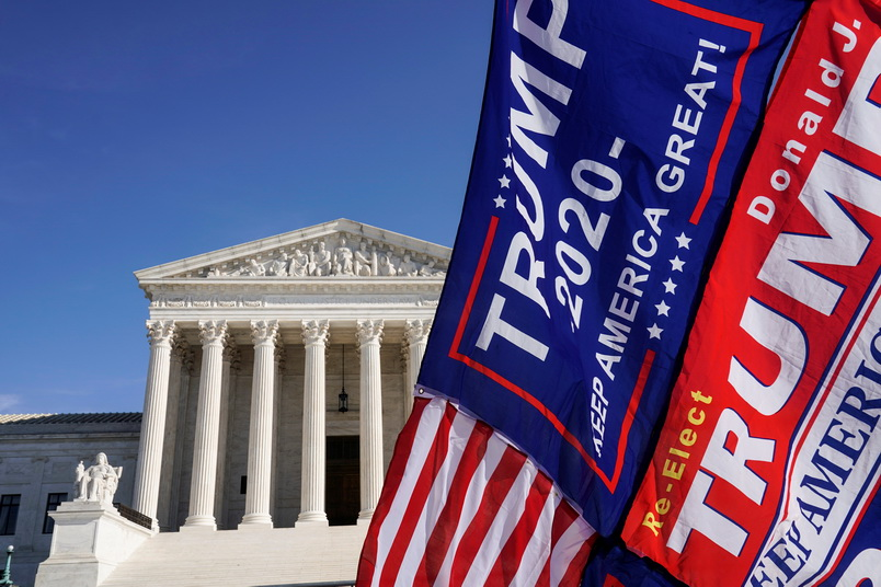 ทรัมป์หมดหวัง! ศาลสูงสุดสหรัฐฯ ปัดคำร้องคว่ำผลเลือกตั้งใน 4 รัฐที่ 'ไบเดน' ชนะ