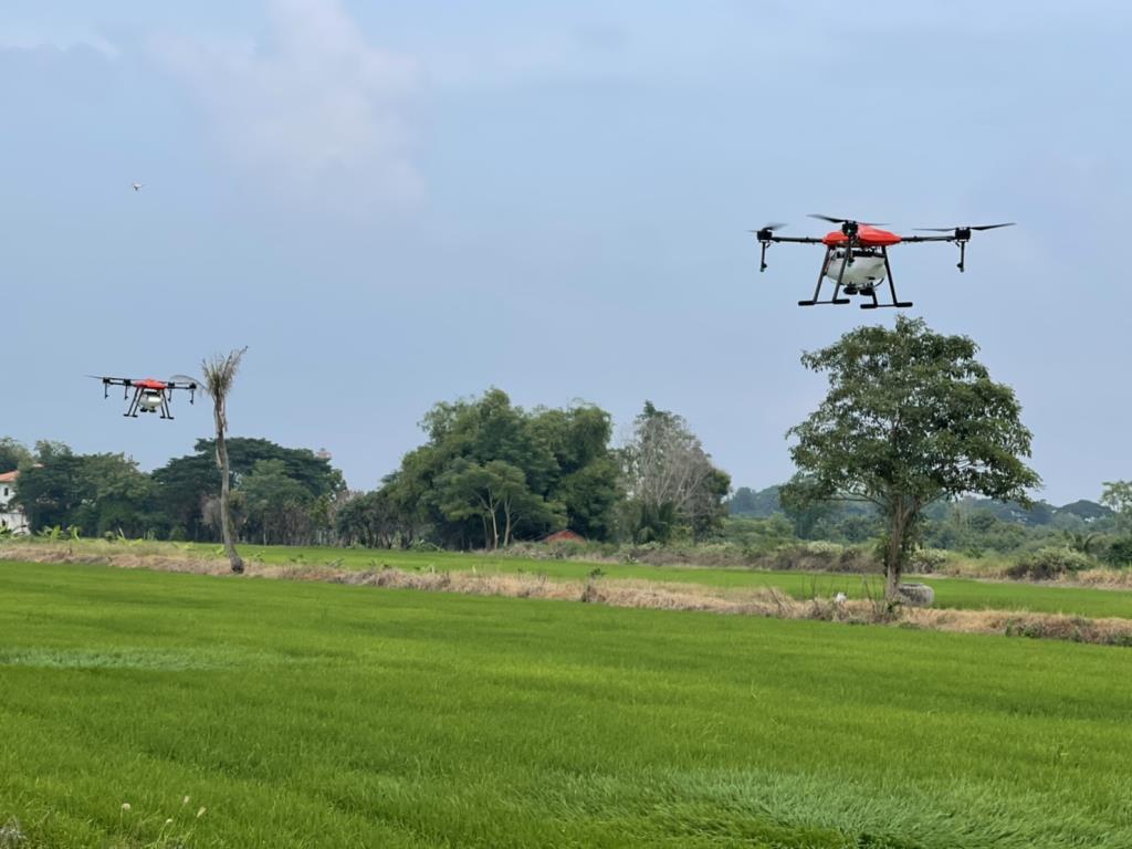 """เอทีไอ เทคโนโลยีส์ ส่ง """"เจ้าเอี้ยง"""" โดรนเกษตรลุยตลาดQ1/64"""