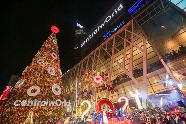 ศูนย์การค้าเซ็นทรัล ผู้นำแลนด์มาร์คคริสต์มาสและปีใหม่ระดับโลกของไทย 'Thailand's Best Destination for Festive Celebration' สร้างปรากฏการณ์ความสุขดีที่สุด ยิ่งใหญ่ที่สุดทุกจังหวัด