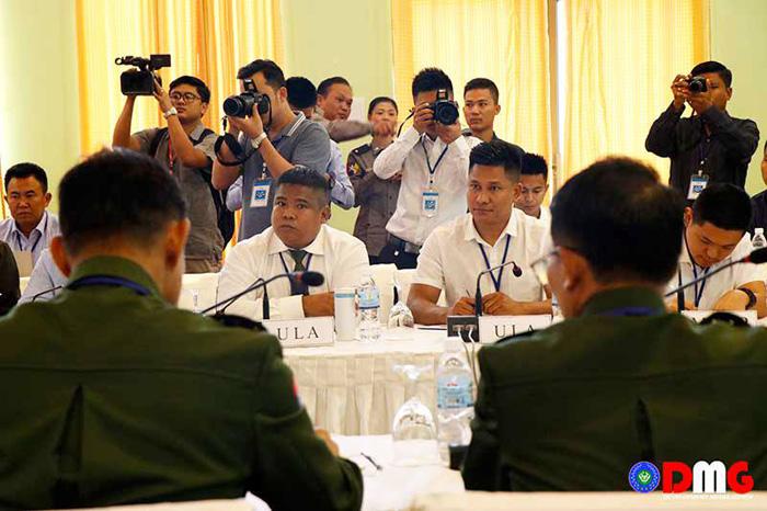 """""""ทุนเมียตไหน่"""" มีนัดนายพลพม่า เริ่มฉายแววสันติภาพในรัฐยะไข่"""