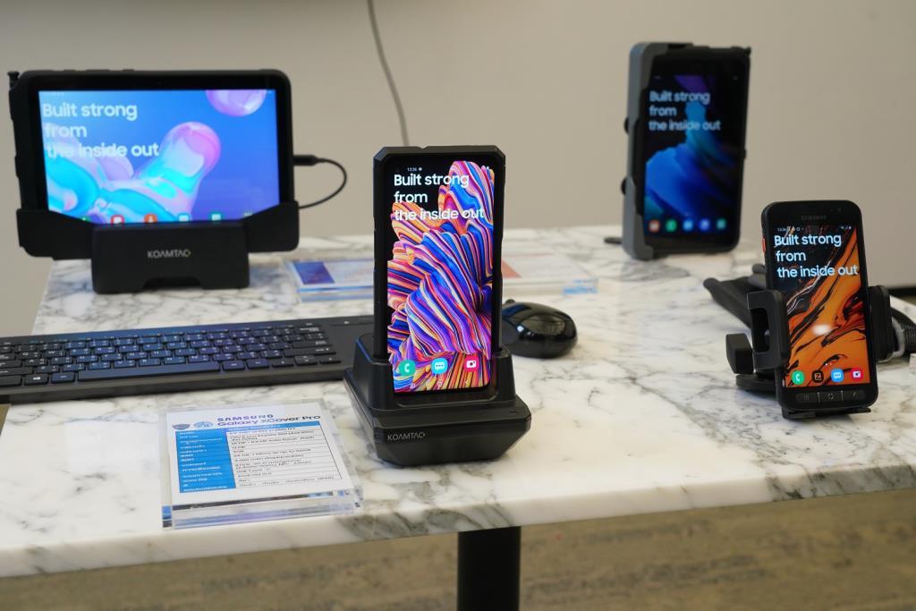 4 สินค้ากลุ่ม Rugged Device ของซัมซุง