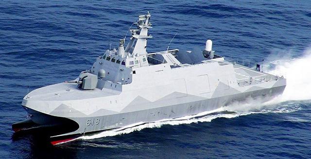 ไต้หวันไม่หวั่น ปล่อยเรือวางทุ่นระเบิดอัตโนมัติลำแรกของโลก