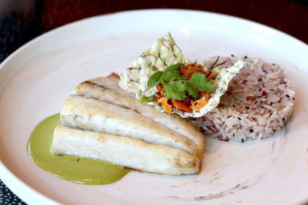Seared Andaman Sea Bass