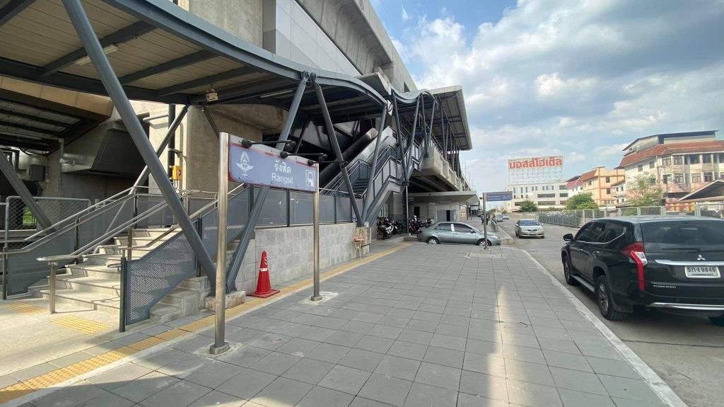ย้ายแล้ว! การรถไฟฯ เปิดใช้สถานีรังสิตอาคารใหม่ ห่างที่เดิม 300 เมตร รองรับรถไฟฟ้าสายสีแดง