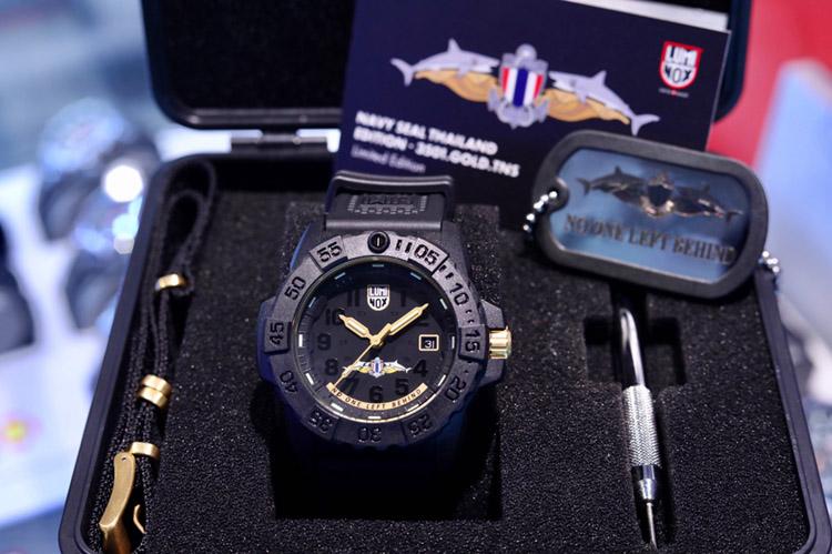 Luminox สานต่อความสำเร็จสรรค์สร้างนาฬิกาลิมิเต็ดอิดิชั่น Thai Navy SEAL รุ่น 2 สร้างความจดจำอีกครั้ง เพียง 800 เรือนในประเทศไทย