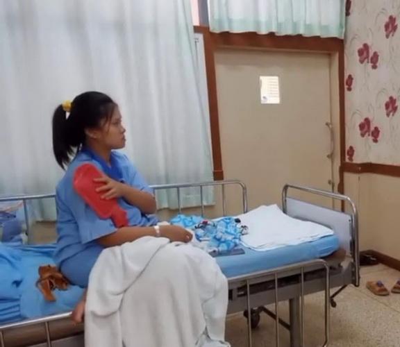 สาววัย22ปีคลอดลูกทารกหญิงมี4แขน4ขา เตรียมส่งผ่าตัด รพ.ศรีนครินทร์