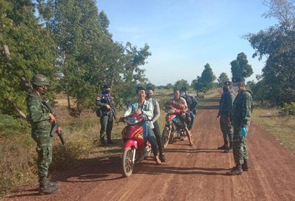 รวบอีก 5 ชาวกัมพูชาลอบเข้าไทยผ่านช่องทางธรรมชาติสระแก้ว สารภาพเตรียมไปทำงานที่พัทยา