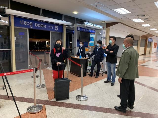 สนามบินเชียงใหม่ยกระดับตรวจโควิดฯเข้มทันที หลังพบผู้ติดเชื้อสมุทรสาครรวดเดียว 548 ราย